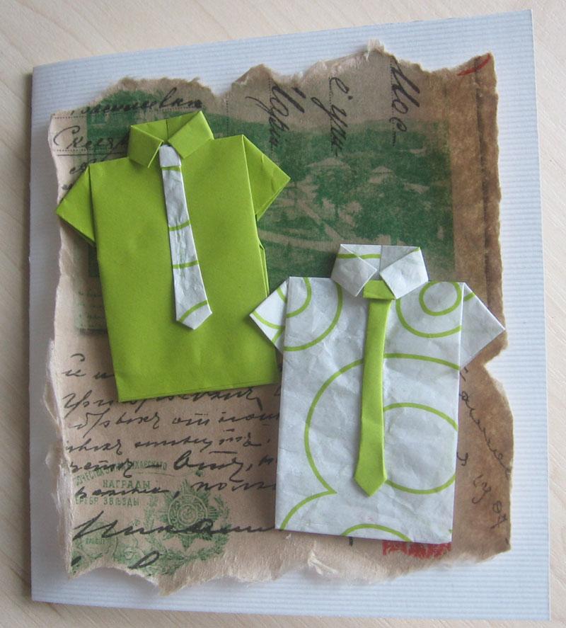Смотрите схемы рубашек оригами