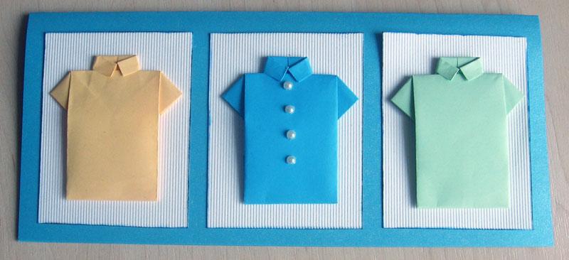 открытка рубашка инструкция