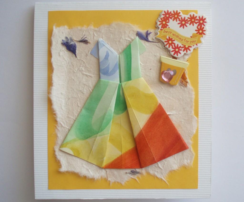 Оригами рубашка схема 4