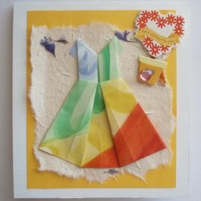 Схемы одежды в технике оригами для открыток ручной работы