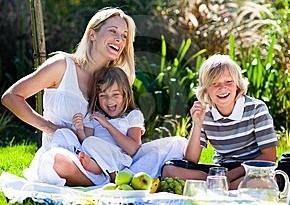Веселые прогулки с  детьми. Увлекательный пикник - День 2