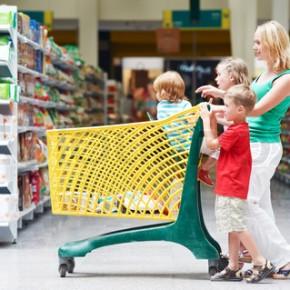 Прогулка в  магазин. Веселые прогулки с детьми.  День 5