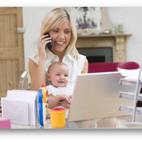 Работа в декрете или 5 причин стать мамой-фрилансером