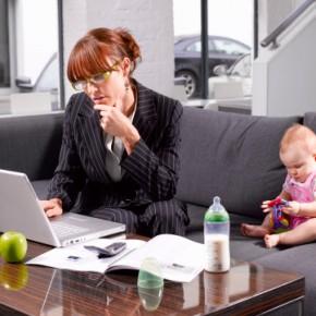 Как эффективно совмещать семью и работу?