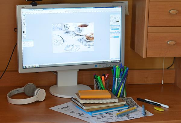 домашний офис веб дизайнера