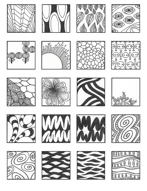 zentangle-patterns